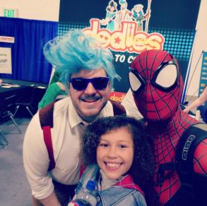 Wizard World Minneapolis 2017 - Rick | Spider-Gwen | Spider-Man