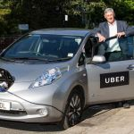 Uber Launches Electric Car Service