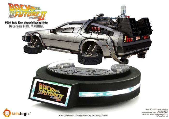 You Can Buy A Hovering Delorean Time Machine And
