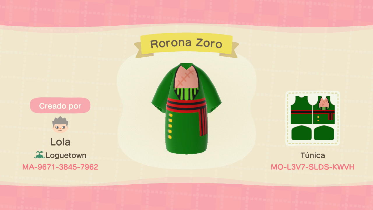 Hope you enjoy, and will gladly do any request!!! One Piece Outfits To Live The Pirate King Life In Animal Crossing New Horizons Geek Culture
