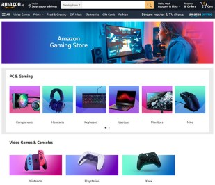 Big Bets on Amazon Singapore Video Games Launches Exclusive Game Store