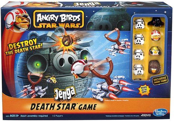 Star Wars Angry Birds Jenga