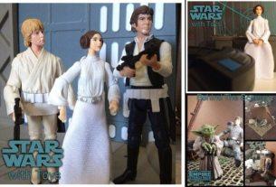Star Wars With Toys by @bobbysussman on instagram
