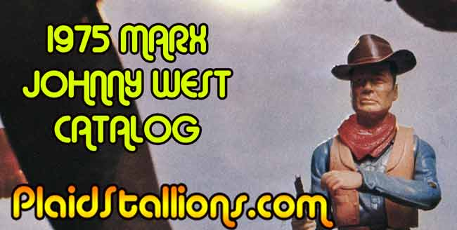 Johnny West, western toys, 1970s toys
