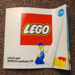 Lego Catalogue from 1985