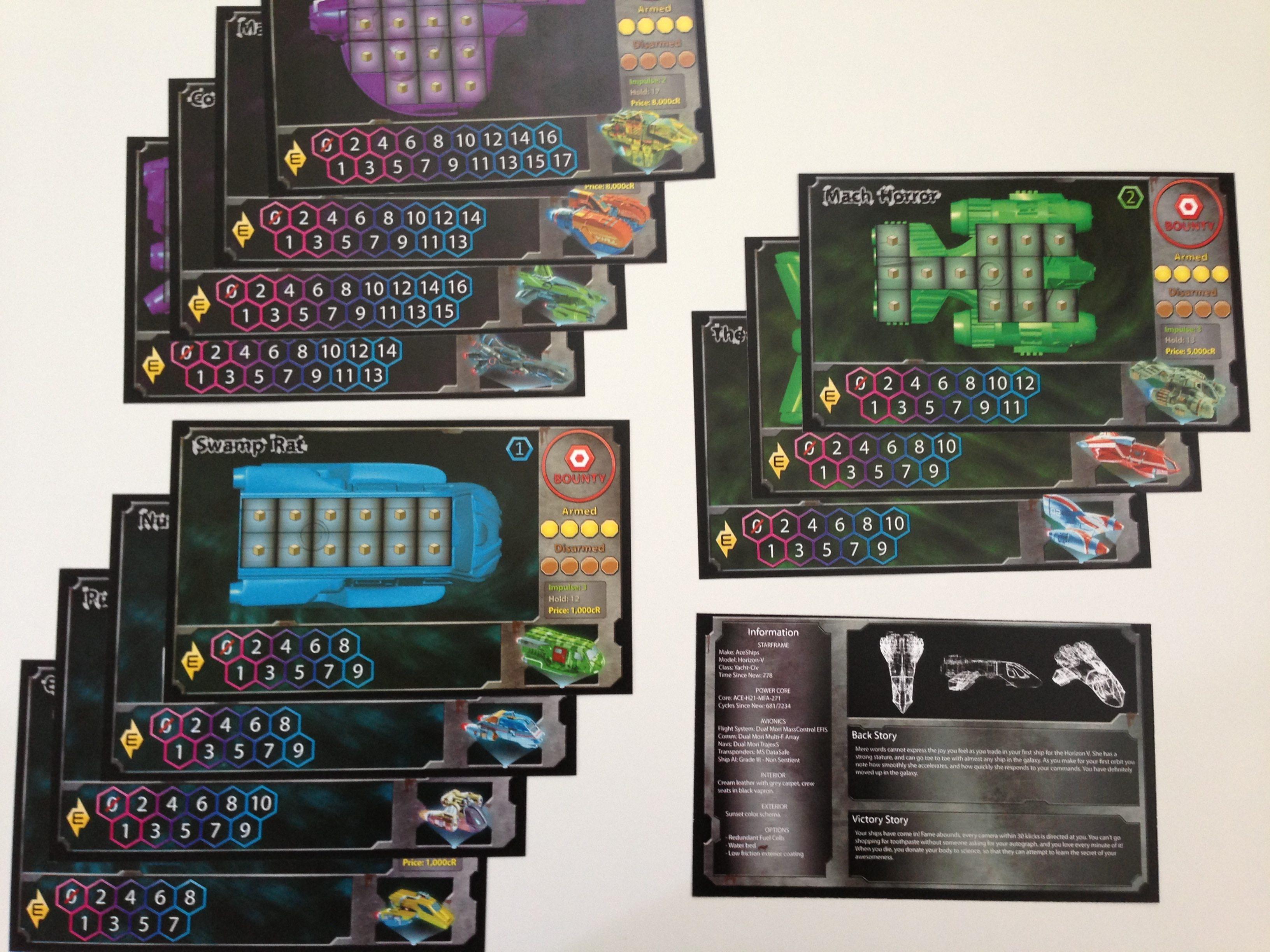 Ship Cards