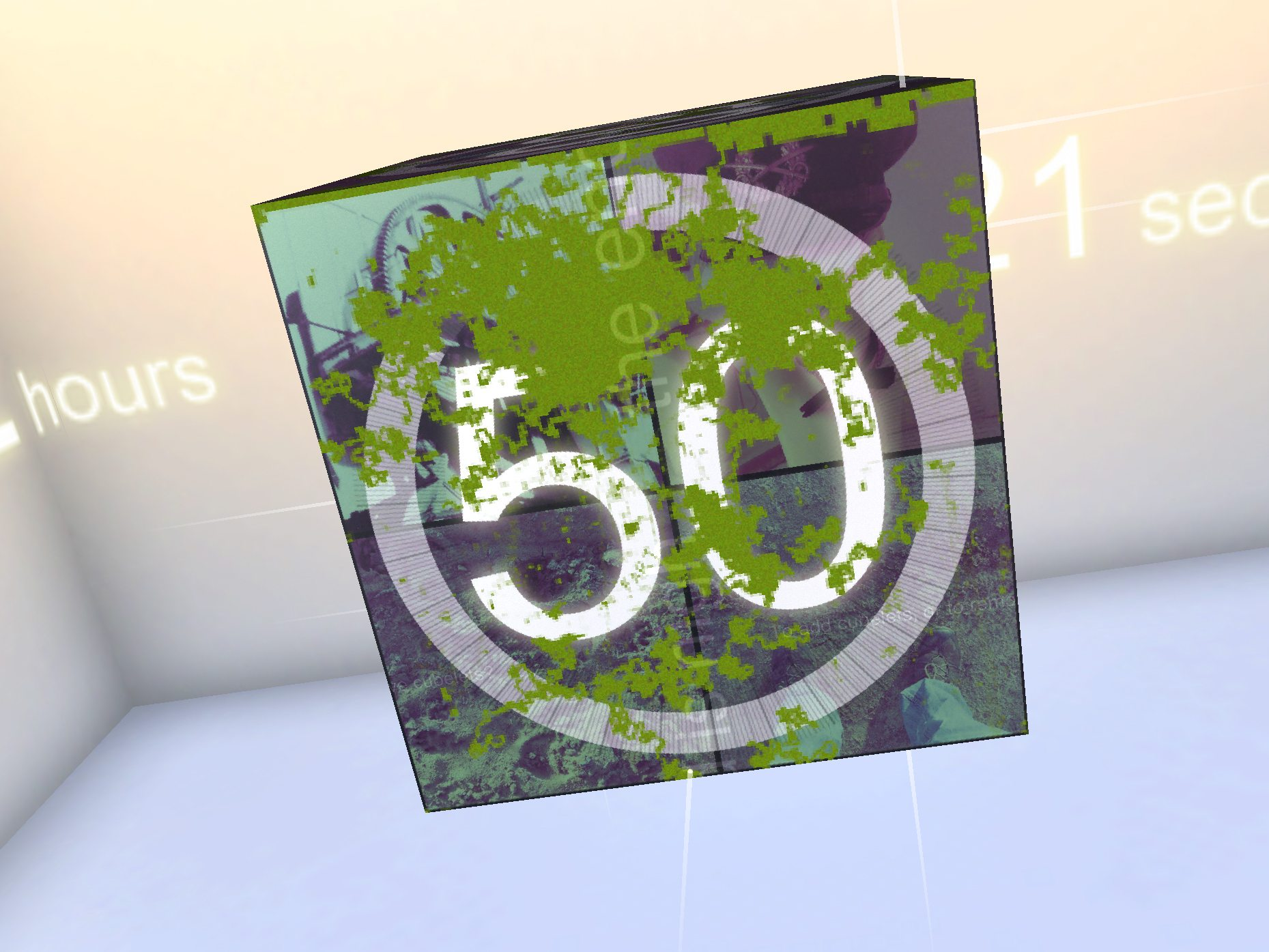 Curiosity - only 50 layers to go!