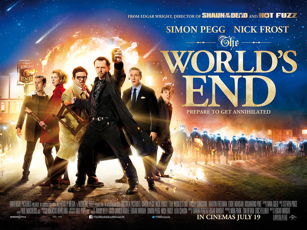 The World's End, from Edgar Wright and Simon Pegg