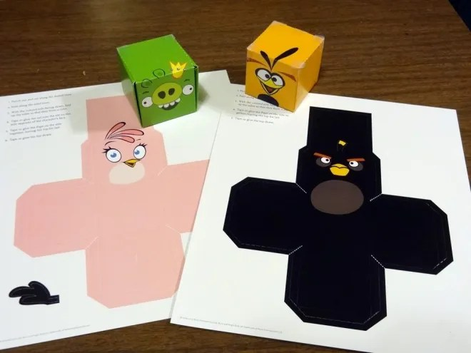Angry Birds models