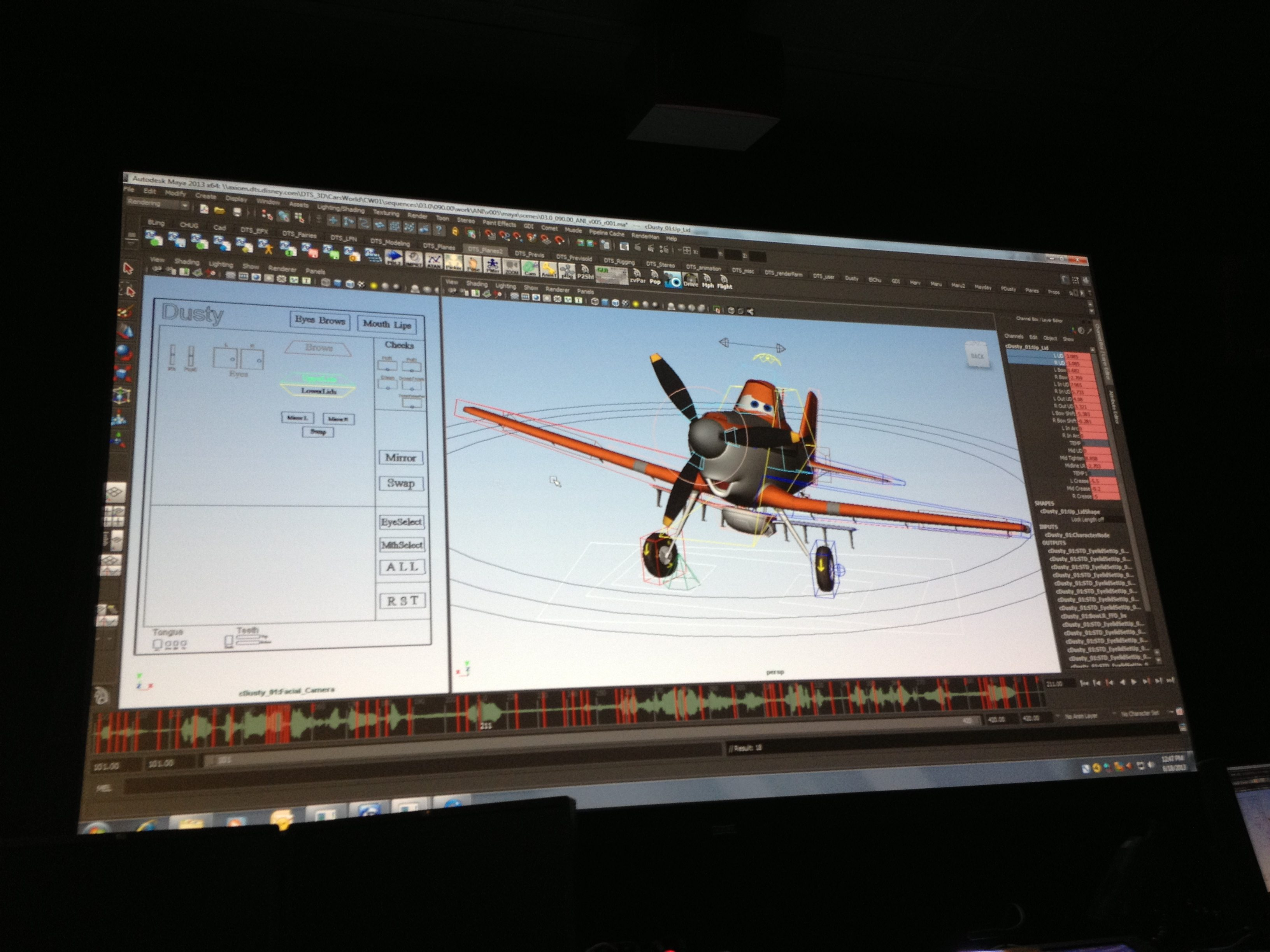 Look Behind the Scenes at Disney's Planes – The Computer Animation Department