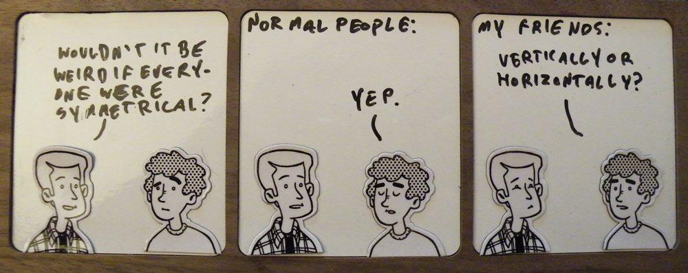 Magnet Cartoon