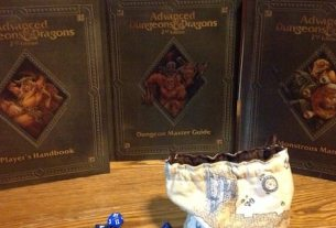 Advanced Dungeons & Dragons 2nd Edition - Core Rules Books
