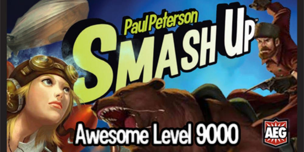 Smash Up Expansion: Awesome Level 9000