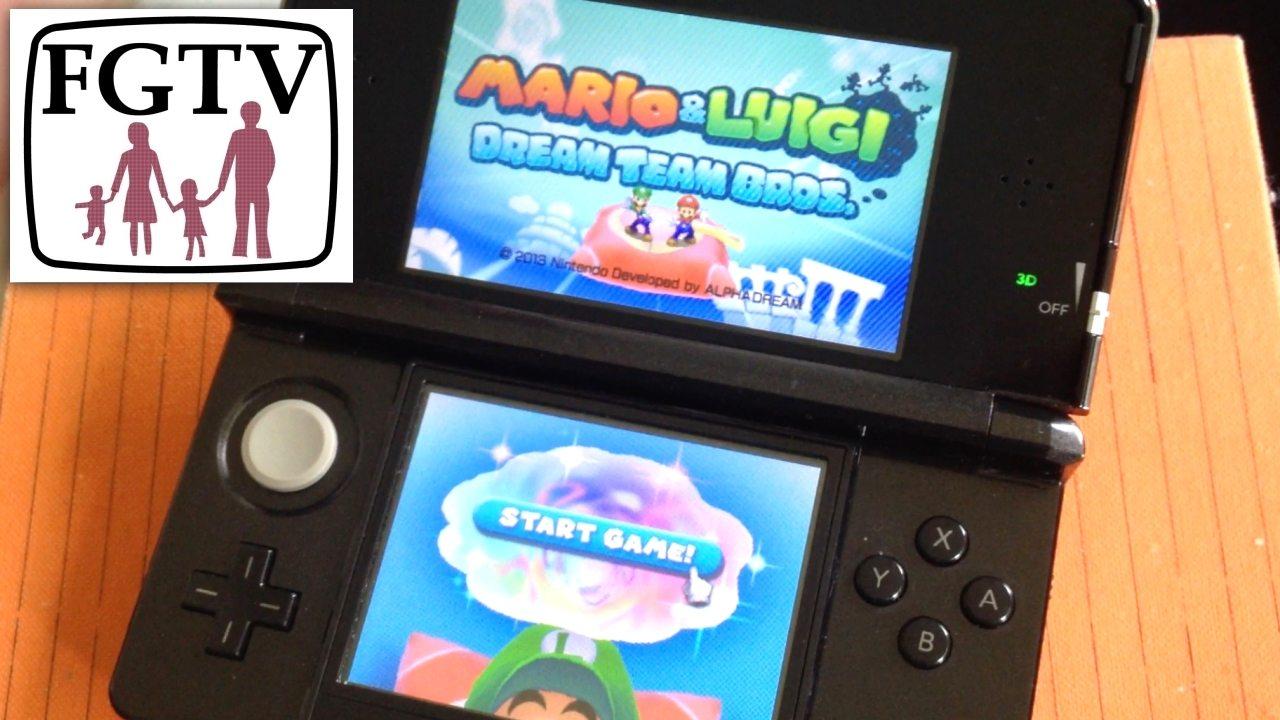 A Proper 3DS Role Play: Mario & Luigi Dream Team