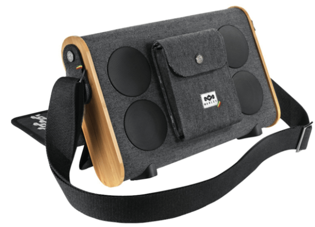 Roots Rock Bluetooth portable audio system from House of Marley