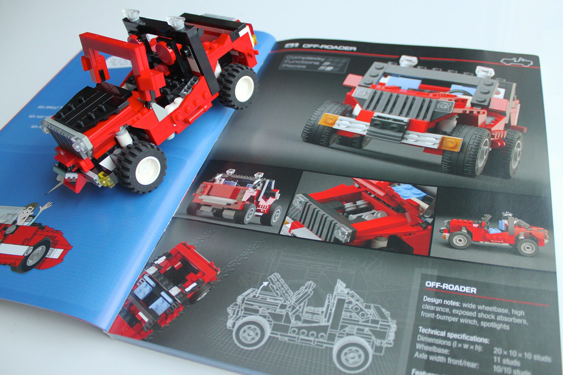 Build Ten Amazing Vehicles With The Lego Build-It Book