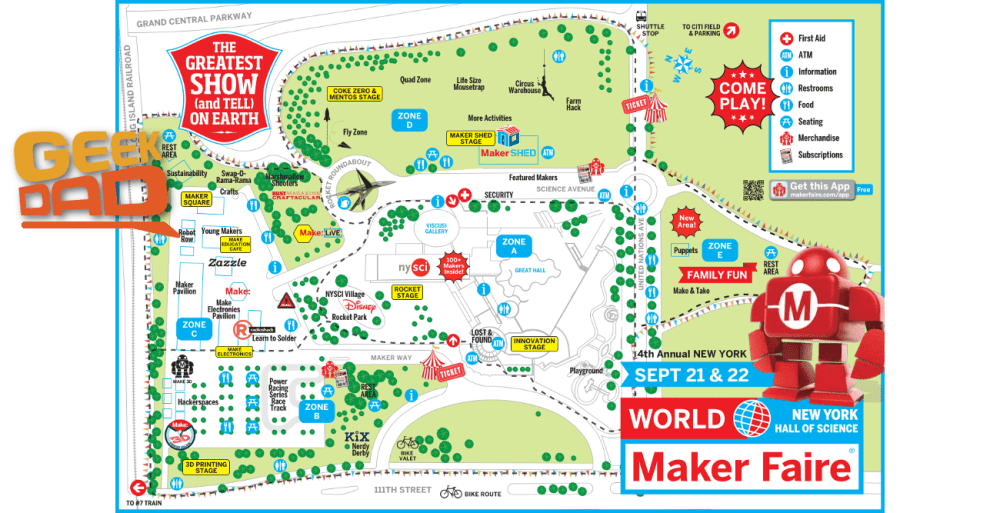 Visit GeekDad at Maker Faire NY 2013