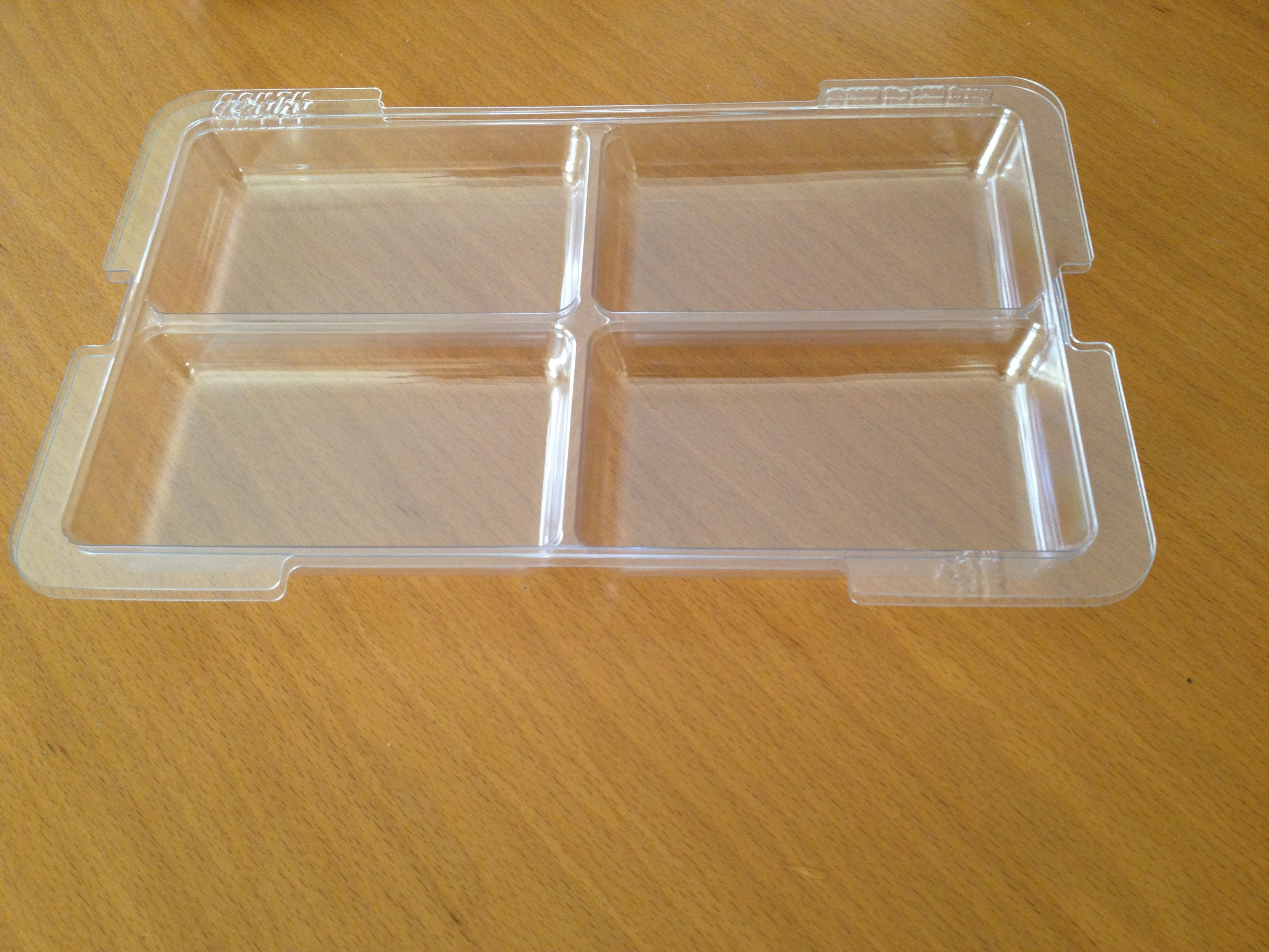 The kit comes with two of these trays. Photo: Jenny Williams
