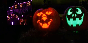 Computers, Lights and Music Put to Evil Use: Halloween Lights Show Set to The Fox (What Does the Fox Say)