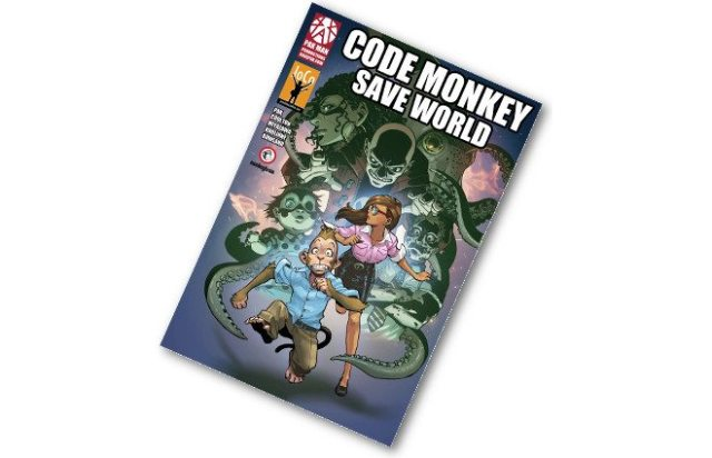 Cover of Code Monkey Save World #1