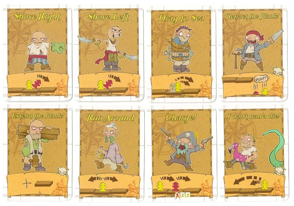 Walk the Plank cards