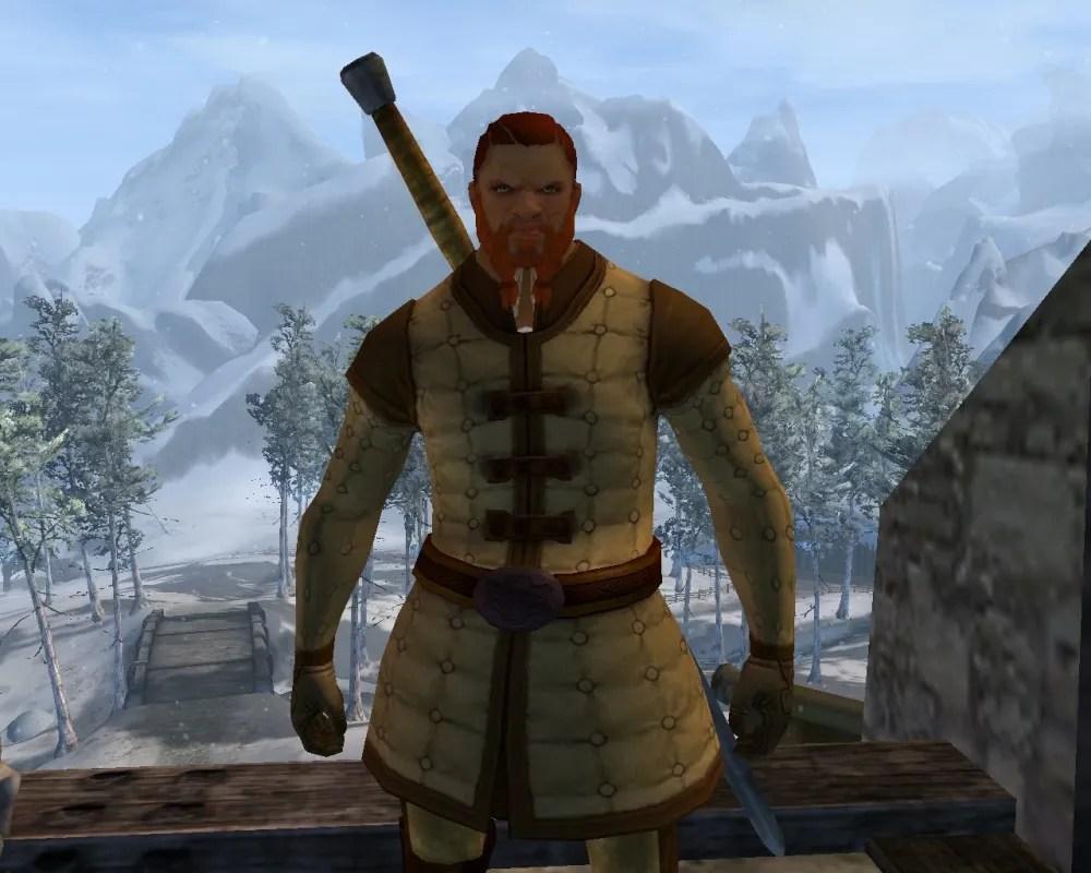 Rory's Norn ranger character. Screenshot: Rory Stark.