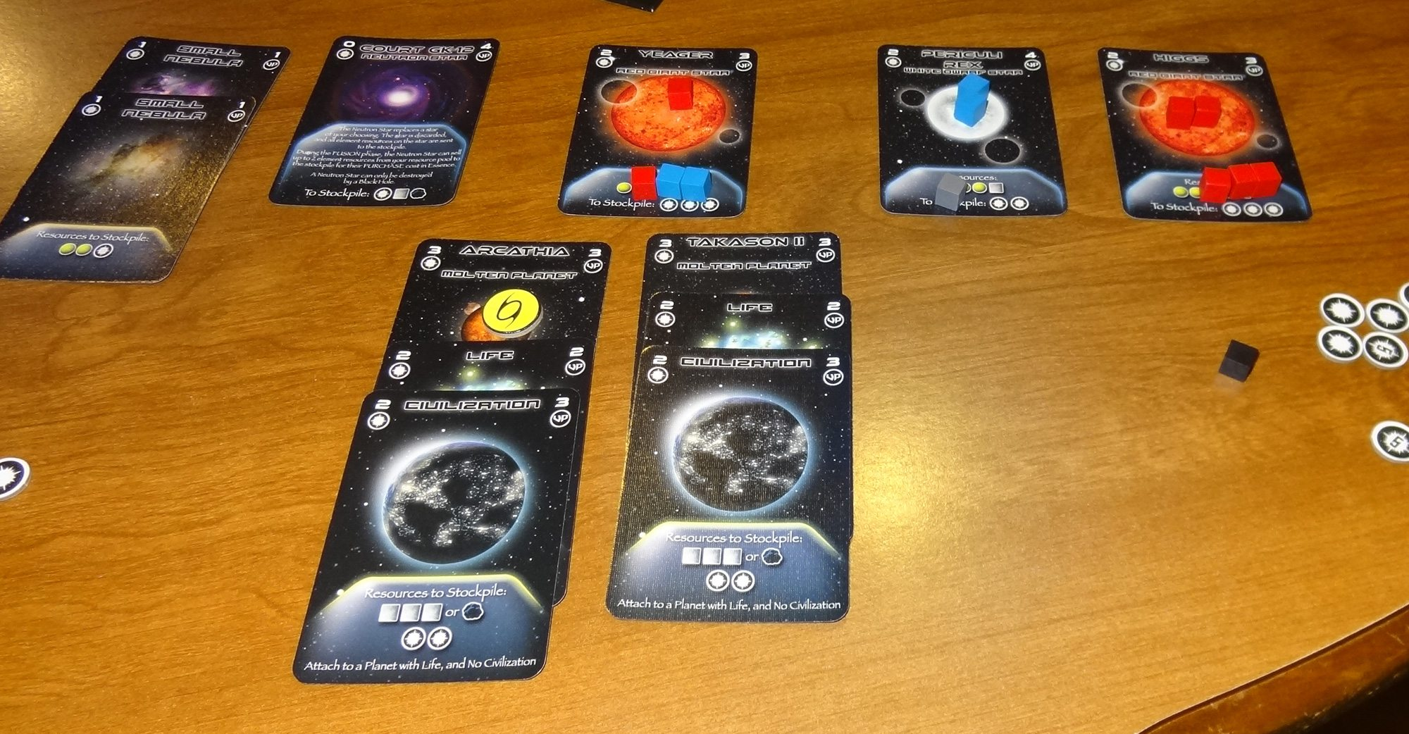 Eons cards