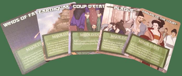 Eternal Dynasty Event cards