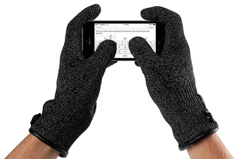 san francisco dcca8 31e04 Mujjo Touchscreen Gloves - GeekDad