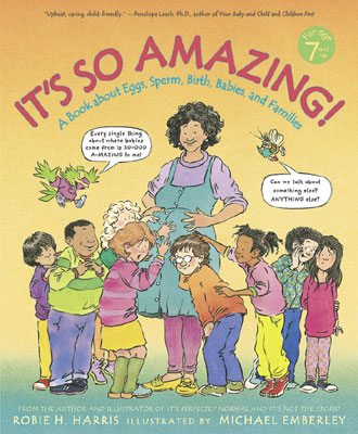Age appropriate books about sexuality