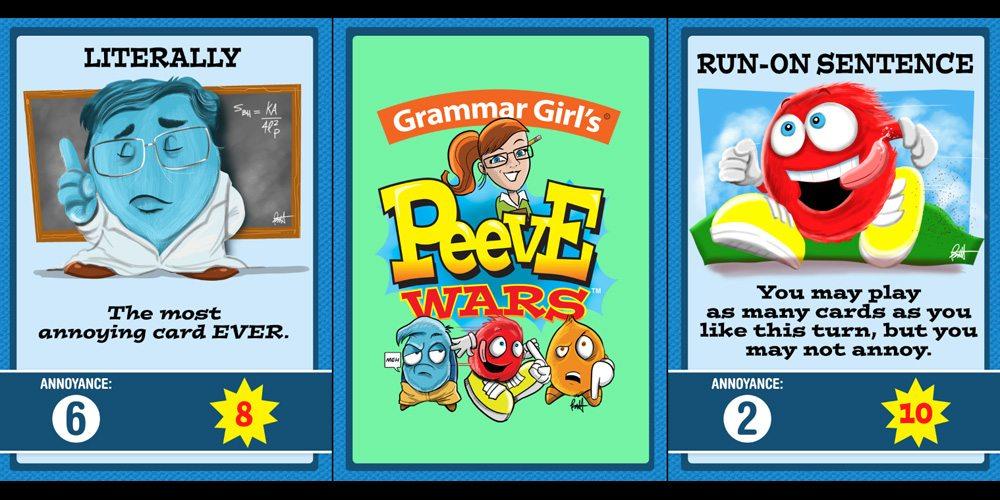 Grammar Girl's Peeve Wars