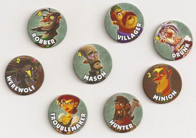 Werewolf tokens
