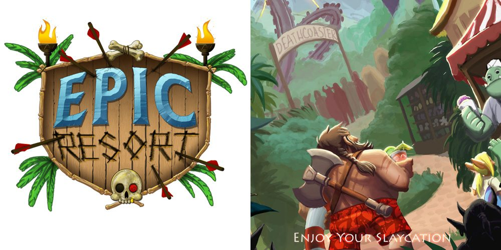 Kickstarter Tabletop Alert: Enjoy Your Stay at Epic Resort