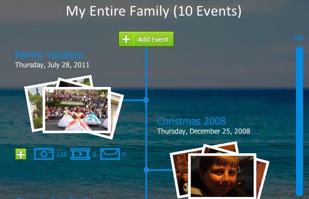 The start of our LegacyBuilder timeline.