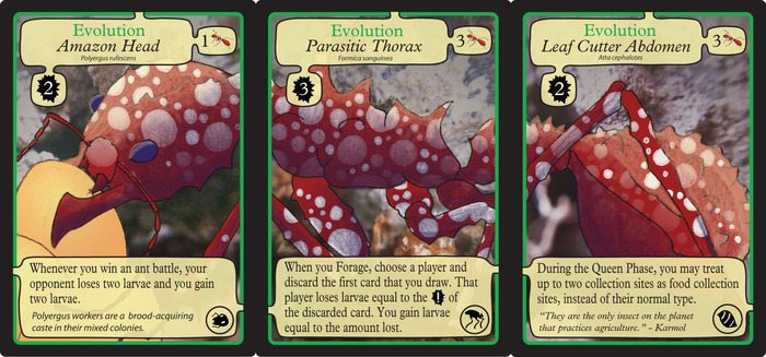 March of the Ants evolution cards
