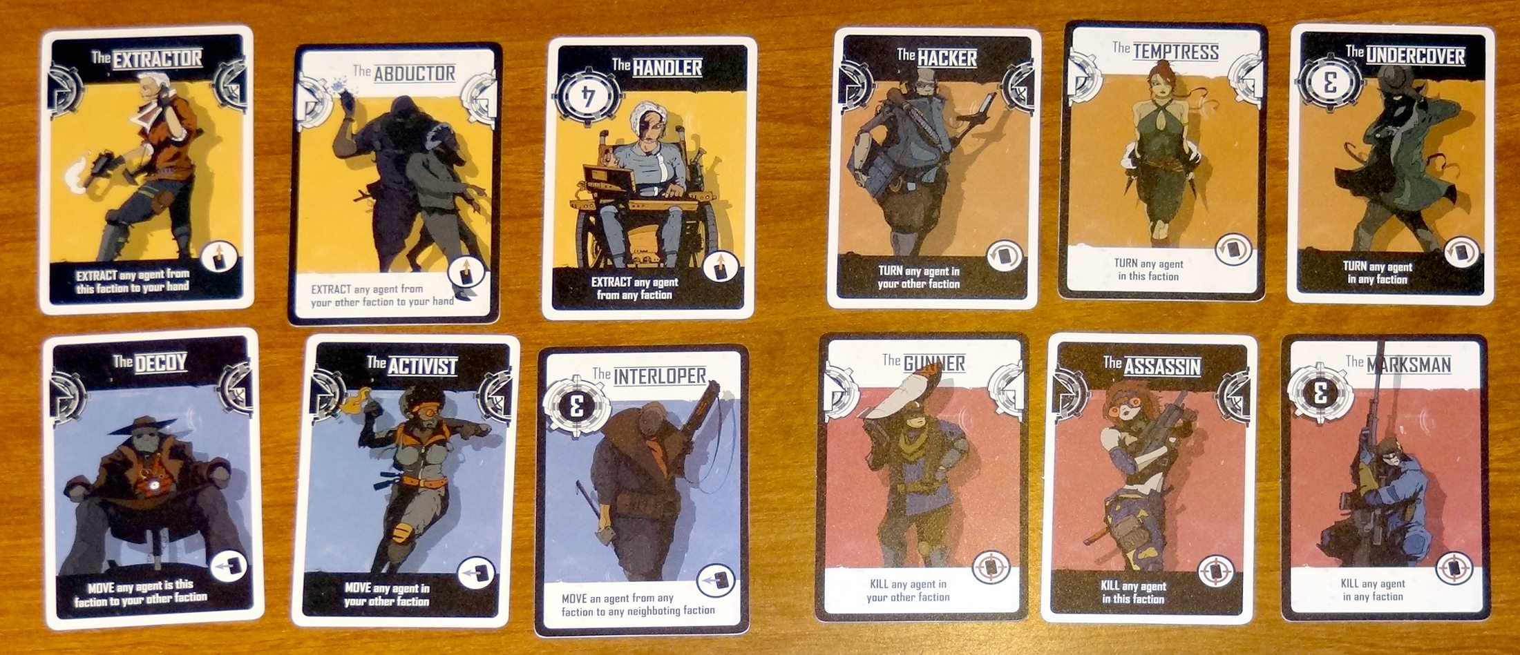 The Agents: Agent Cards