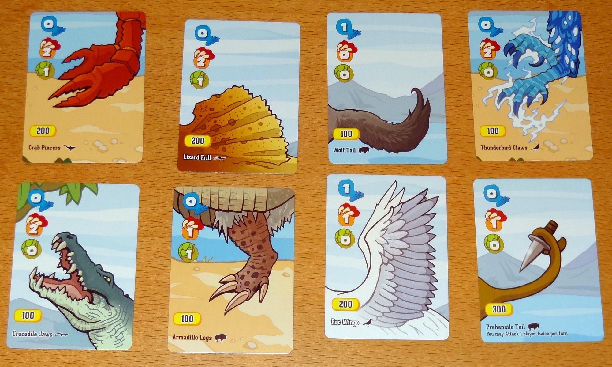 Velociraptor! Cannibalism! Meat Locker cards