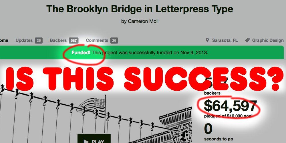 Brooklyn Bridge Kickstarter