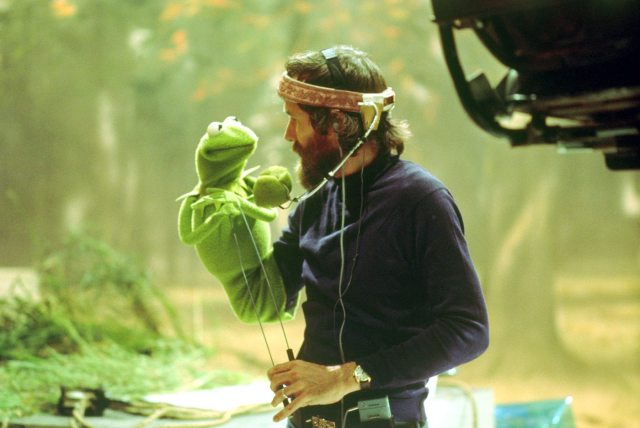 Jim Henson and Kermit the Frog