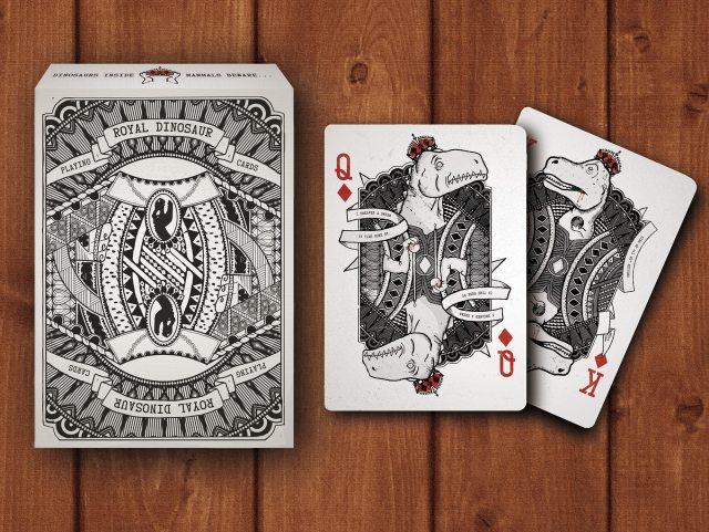 Royal Dinosaur Cards