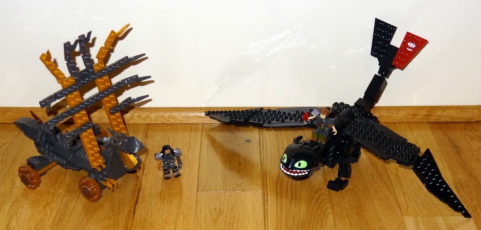 Toothless and Dragon Trap
