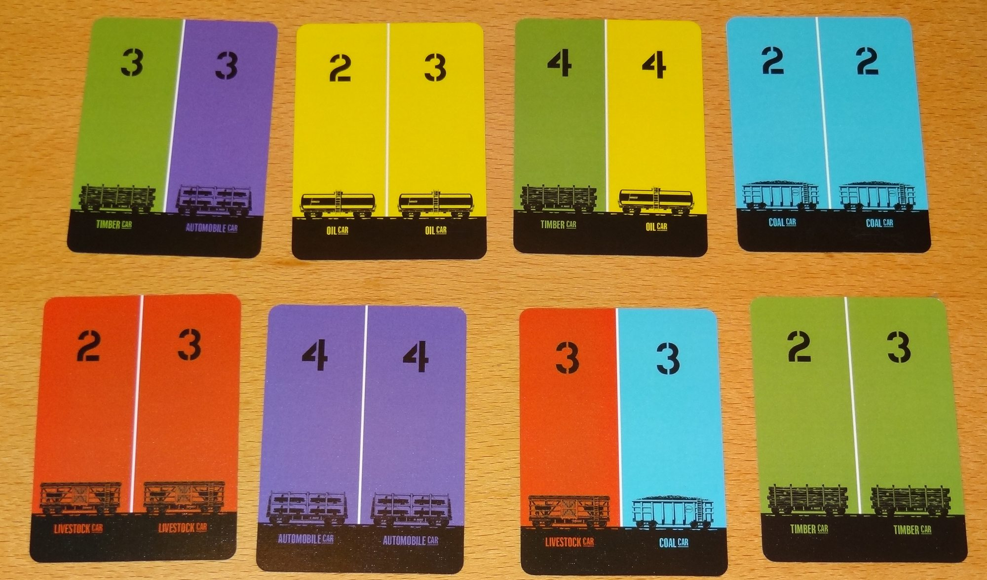 Yardmaster Express - Railcar cards