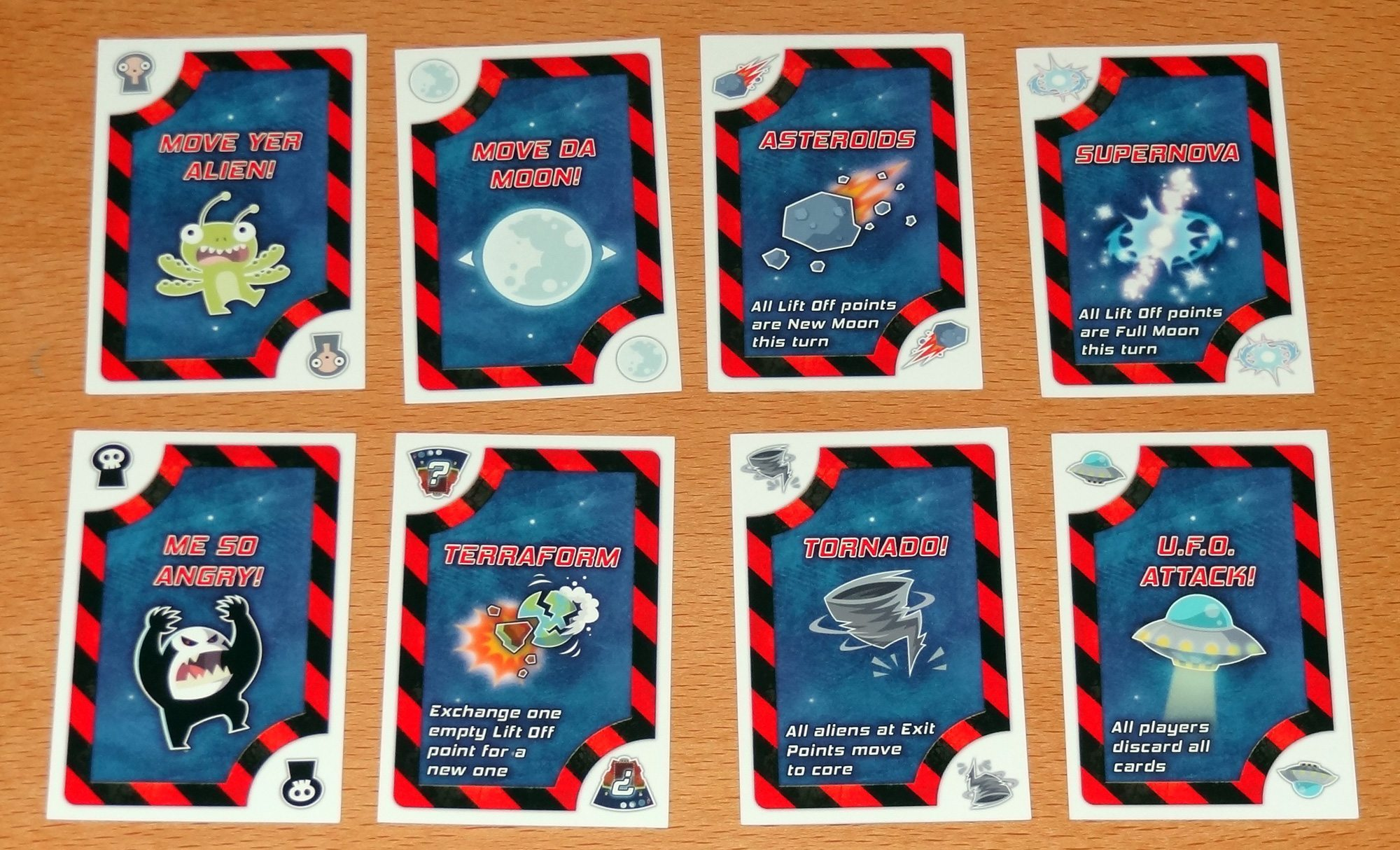 Lift Off action cards