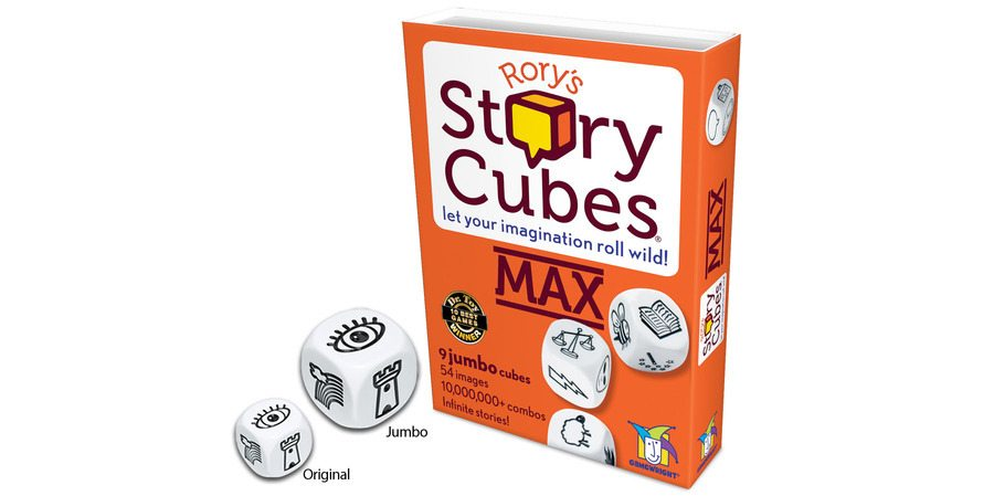 Make Playtime More Accessible With Rory's Story Cubes MAX