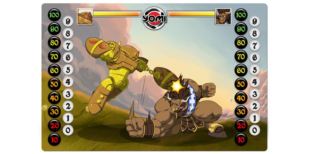 Kickstarter Tabletop Alert: Yomi—Card-Based Fighting Game