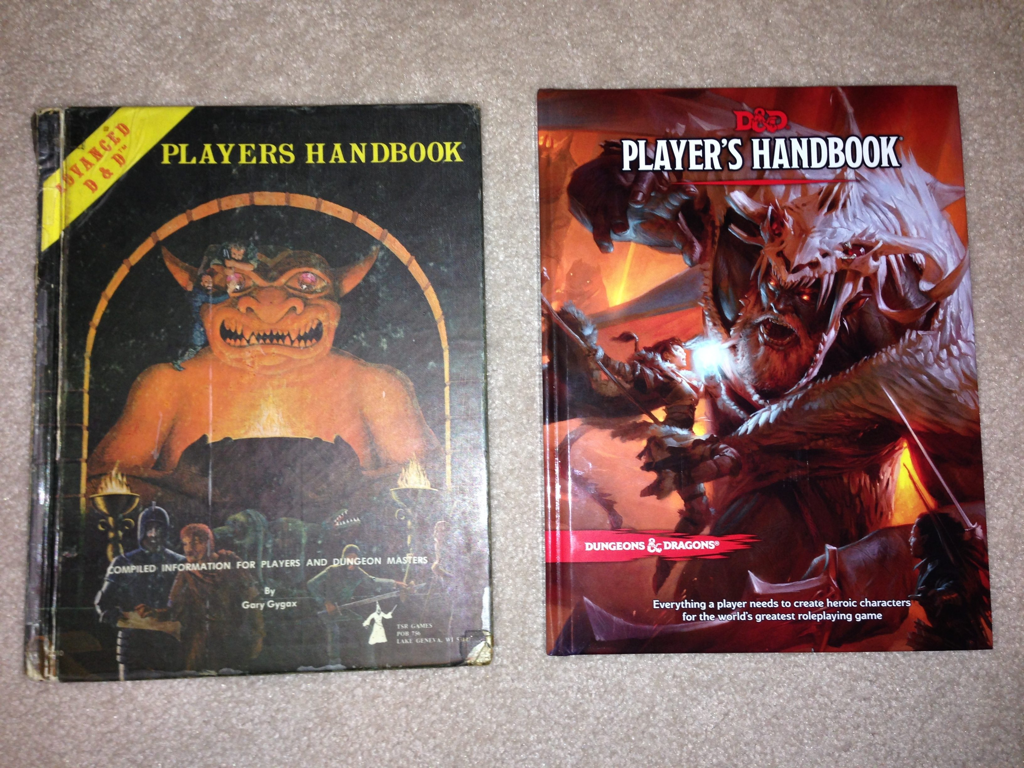 A Tale Of Two Handbooks 1978 Ad D And 2014 D D Geekdad