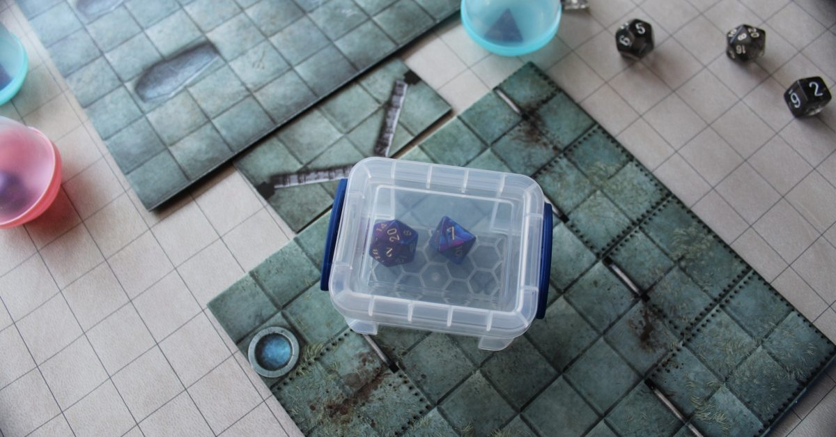 Dice Rolling Solutions: Really Useful Box