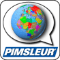 There is a handy app for managing your audio files and reading assignments. Image: Pimsleur