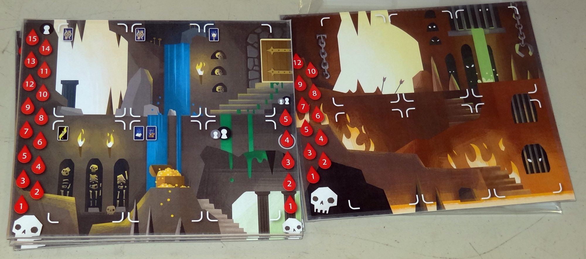 Catacombs Player Boards