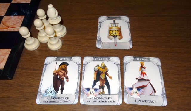 King Down cards